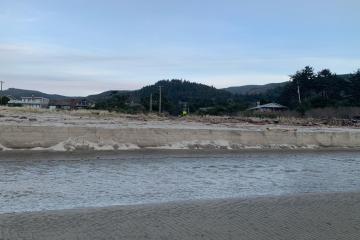 Mile 292 runoff  27F erosion