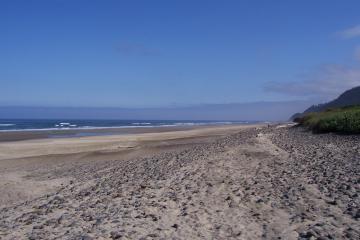 Deep sand on mile 182.