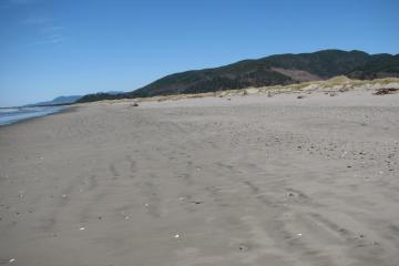 This view is from the southern end of mile 288 looking north toward the jetty.