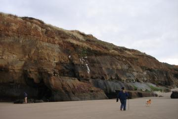 "It was possible to walk through one of the ""caves"", but in March 2010 they collapsed."