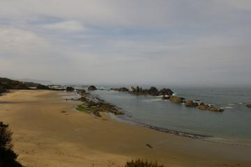 Beautiful day at Seal Rock State Park.