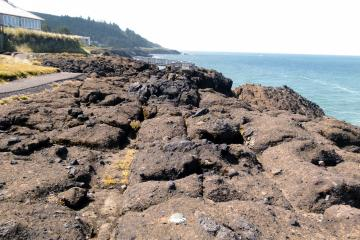 MP229 Looking South from U.S. Coast and Geodetic Survey marker #2 visible in lower center of photo