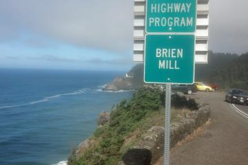I've adopted beach mile 178 for the Coastwatch program, and decided to adopt the corresponding highway mile for ODOT.