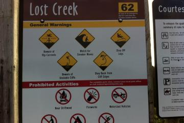 Be sure you know the fastest and safest way off your beach.  Be aware of rules for your beach.