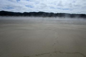 Wide Beach during low tide