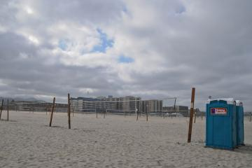 World's largest amateur beach volleyball tournament is about to begin.