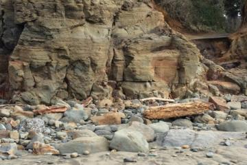 Observation of erosion due to the King Tides and storm surges