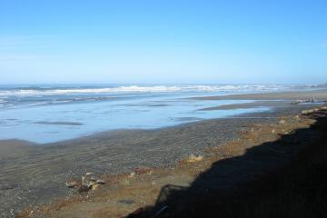 Looking north toward Seal Rocks