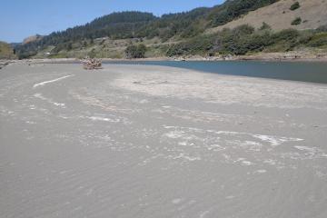 Pistol River high water mark