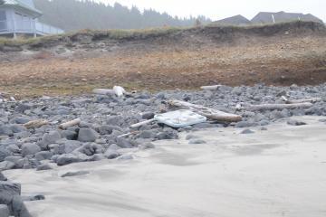 Debris found on North Stonefield Beach
