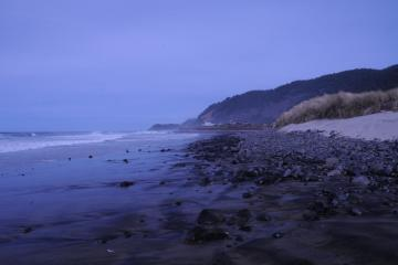 Stonefield Beach on south side of Tenmile Creek-looking north